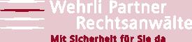 Logo Wehrli Partner transparent weiss (Panetone)